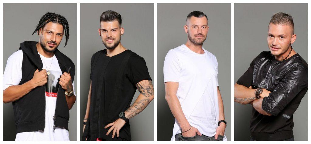 """Raju – pe numele din buletin Nae Adrian Constantin –, Iulian Jucan, Andrei Poptelecan și Florin Rus sunt patru dintre concurenții de la """"Puterea Dragostei"""", sezonul 2. © wowbiz.ro"""
