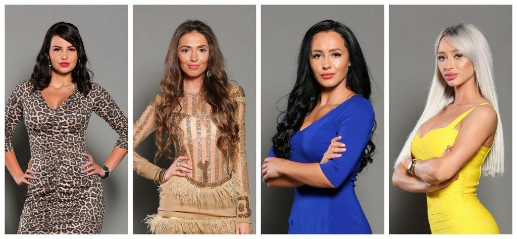 """Bianca Ioana Micu (Bia), Mariana Susarenko, Ionela Sozariu (Ella), Ligia Dolha (Ligi) sunt patru dintre concurentele de la """"Puterea Dragostei"""", sezonul al doilea. © wowbiz.ro"""