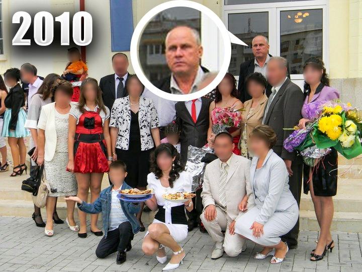 În poza obținută de CANCAN.RO se poate observa că Gheorghe Dincă nu era apropiat de familie nici măcar în urmă cu 10 ani. Acesta era ocolit de toată lumea