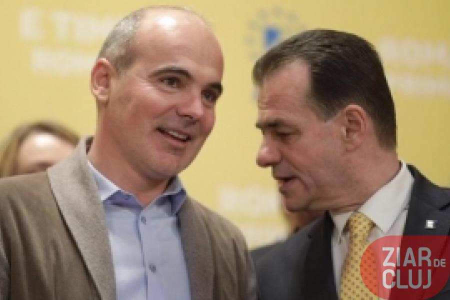 Rareș Bogdan și Ludovic Orban, în timpul unei întâlniri oficiale © ziardecluj.ro