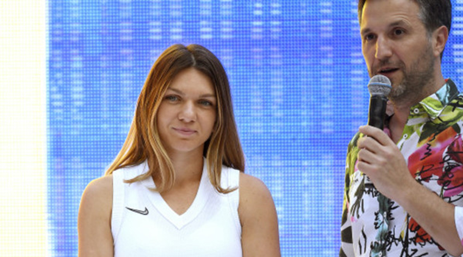 ULUITOR! Câți lei a luat Andi Moisescu pentru a prezenta gala Simonei Halep pe Arena Națională