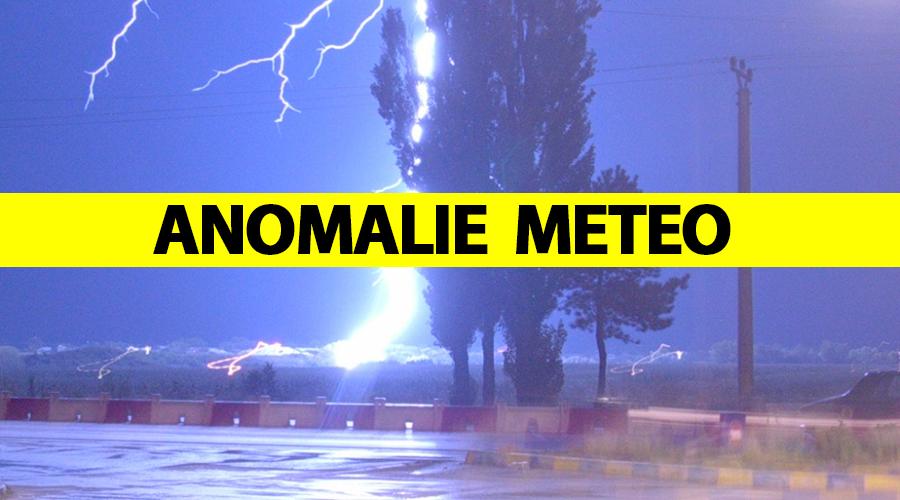 ANM, avertizare de vreme severă emisă miercuri. Anomalie meteo în România