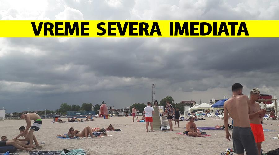 ANM, atenționare de vreme severă imediată emisă miercuri dimineață. Fenomene meteorologice ciudate în România