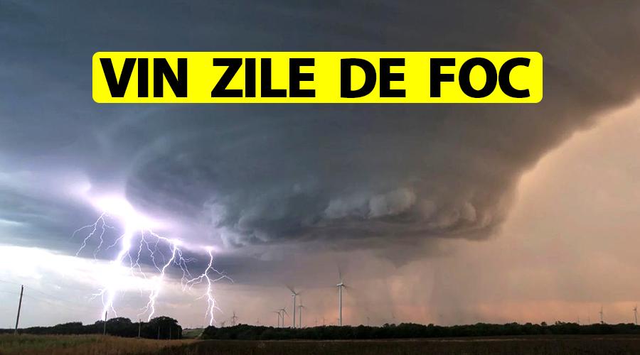 ANM a schimbat prognoza meteo pentru toată România! Urmează zile de foc