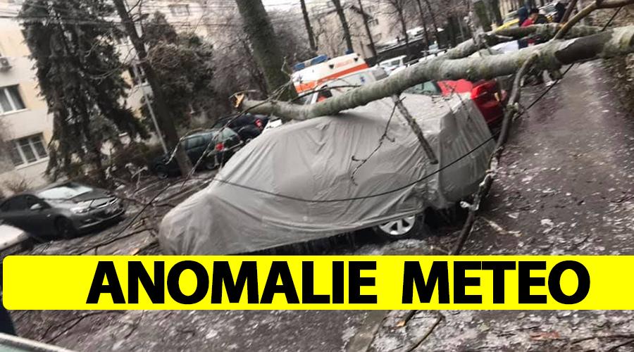 ANM, avertizare de vreme severă imediată emisă duminica dimineață. Anomalie meteorologică în România