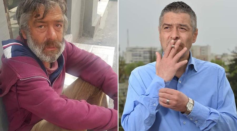 Laurențiu a absolvit Politehnica din București și a ajuns cerșetor. Povestea lui e tulburătoare