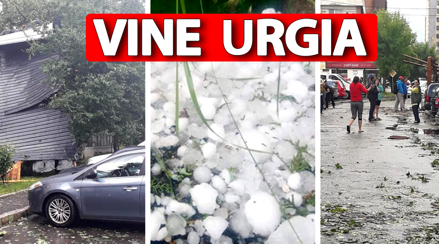 ANM anunță: Vine urgia în România! Urmează o oră și 45 de minute de furie atmosferică