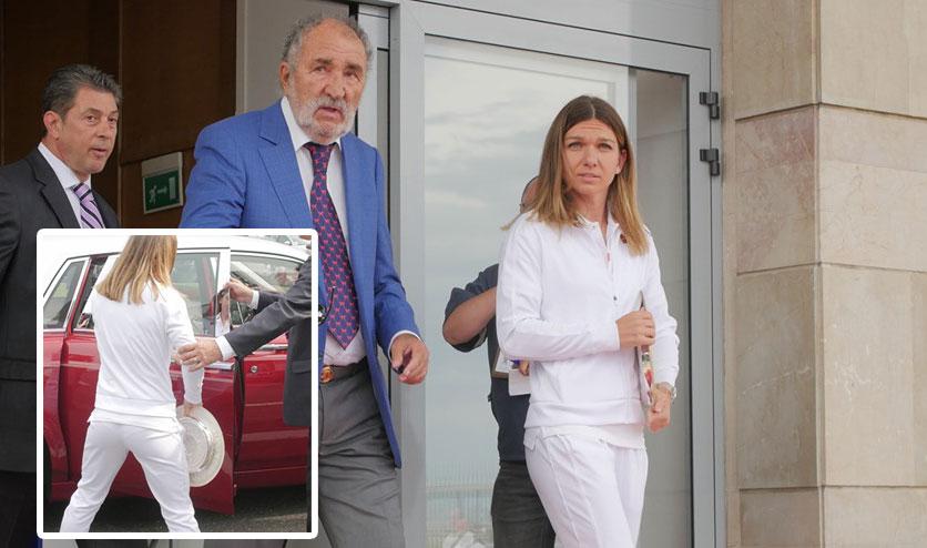 Cu ce bolid de sute de mii de euro a plecat Simona Halep de la Aeroportul Otopeni. Ce surpriză i-a făcut Ion Țiriac