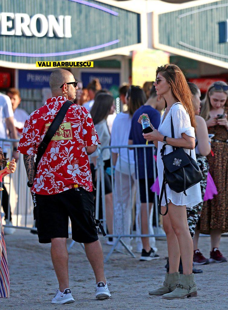Vali Bărbulescu. împreună cu soția, la Neversea 2019