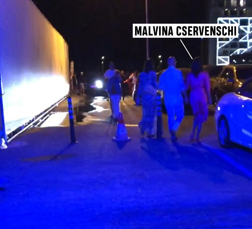 Malvina Cservenschi la Asylum Mamaia
