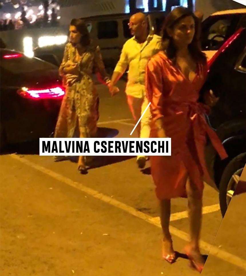 """Malvina Cservenschi a apărut la Asylum Mamaia fără ginerele """"Uluitorului""""!"""