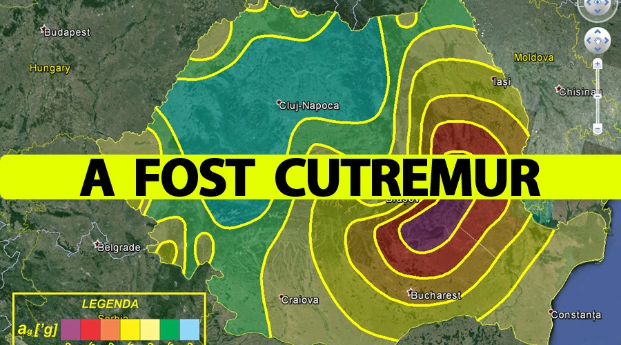 A fost cutremur în România. Ce magnitudine a avut și în ce orașe s-a resimțit