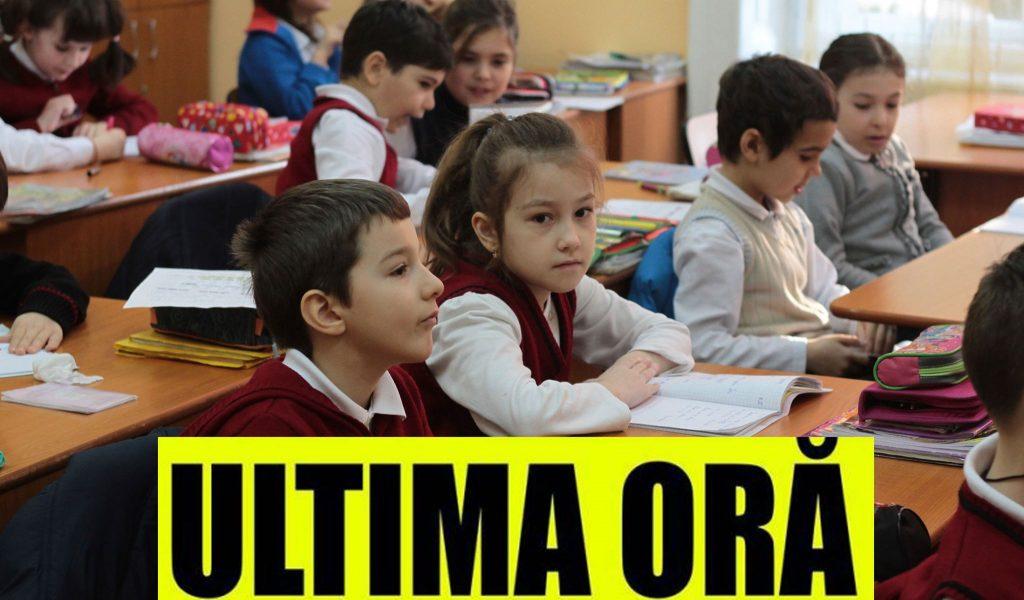 Cand începe școala în România. Răsturnare de situație: decizia de ULTIMĂ ORĂ luată de Ministrul Educației