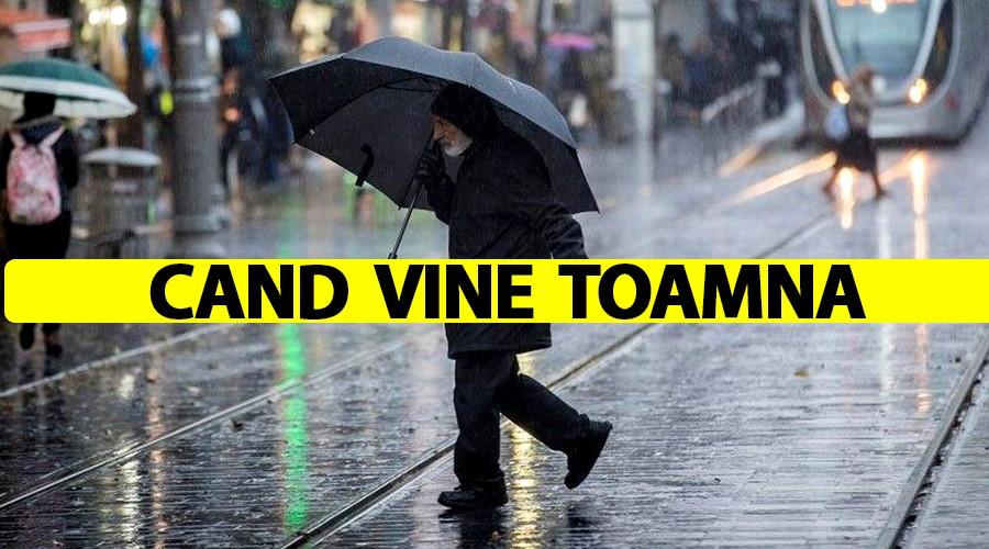 ANM a modificat prognoza. Când vine toamna în România. Care vor fi zonele cele mai afectate de frig