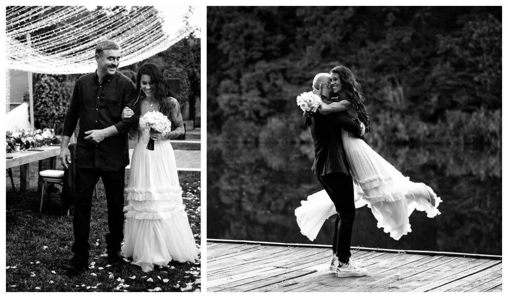 Livia și Cătălin Bordea au făcut nunta în mare secret luna aceasta © Facebook