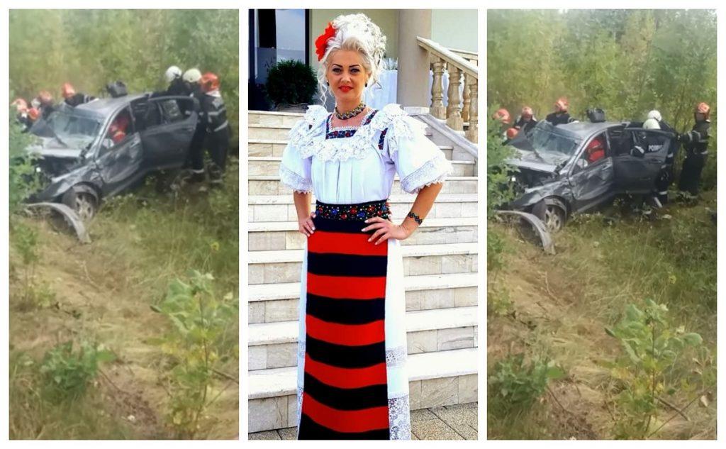 Cauza accidentului în care a murit cântăreața Anamaria Pop. Nu există urme de frânare!