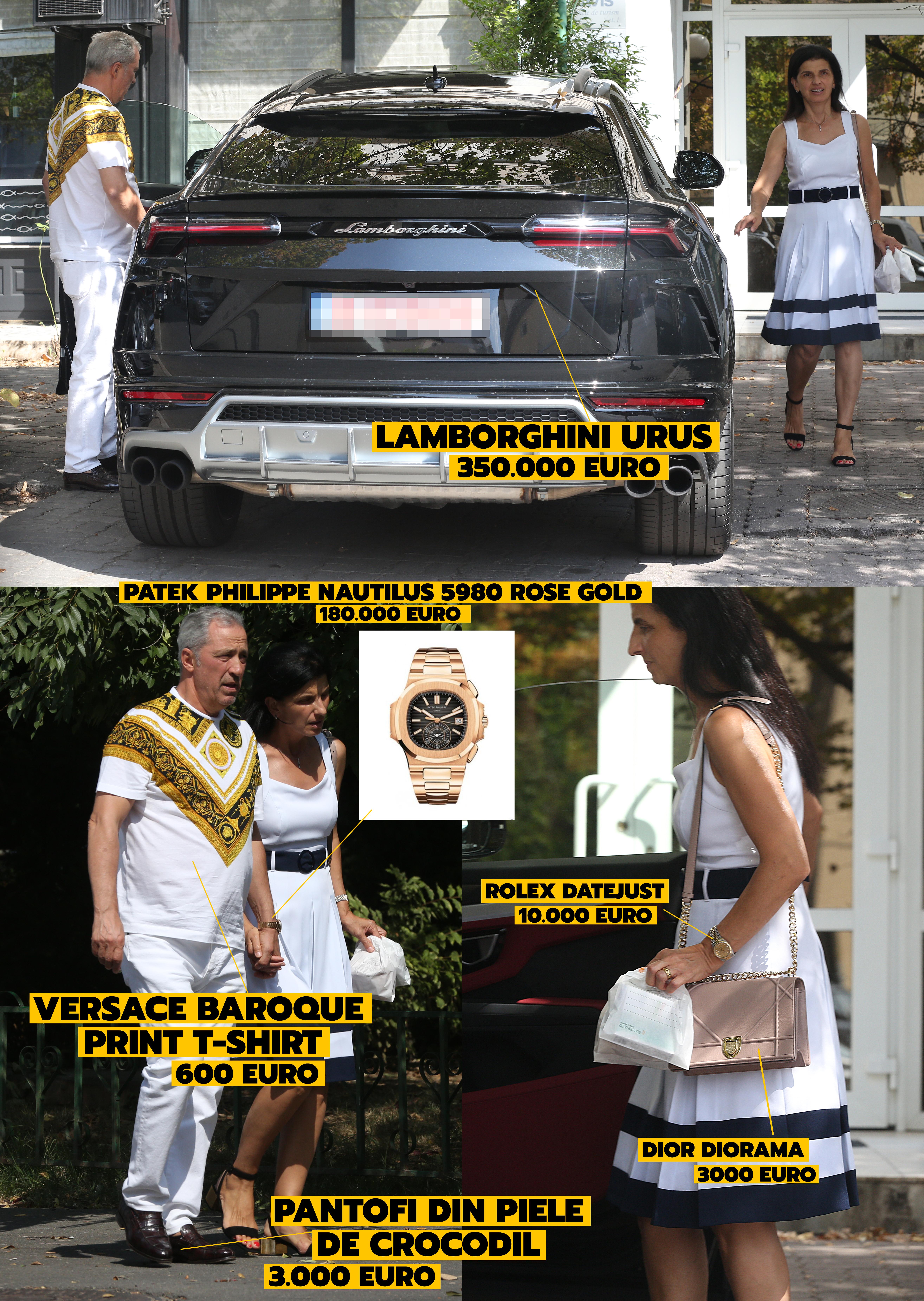 Teia Sponte și soția, apariție de peste 500.000 € în piața Floreasca