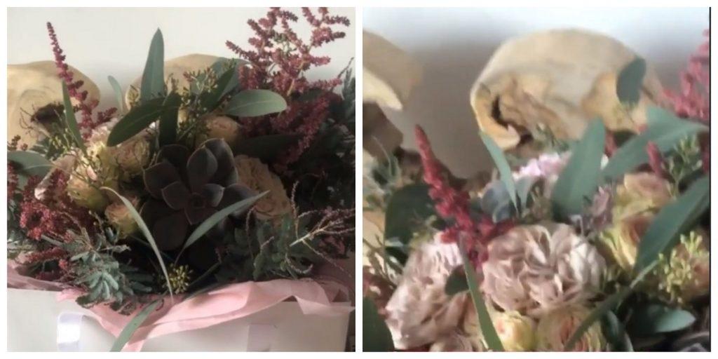 Acesta este buchetul pe care Cristina Șișcanu și l-a comandat special pentru nunta Gabrielei Cristea și a lui Tavi Clonda © Instagram