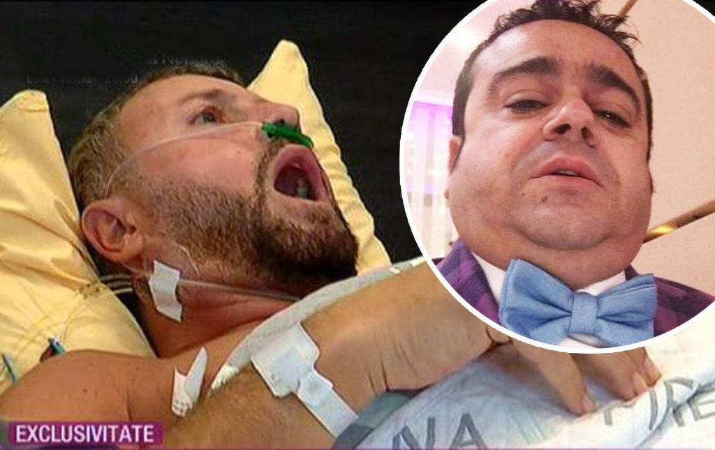 Cum l-a fotografiat Adrian Minune pe Cătălin Botezatu, după ce a fost operat de tumoră rară