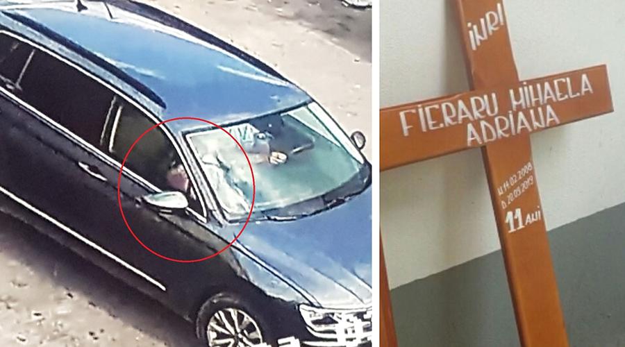 Medicii legiști au făcut autopsia copilei de 11 ani, găsită ucisă în Dâmbovița. Primele imagini cu sicriul Adrianei
