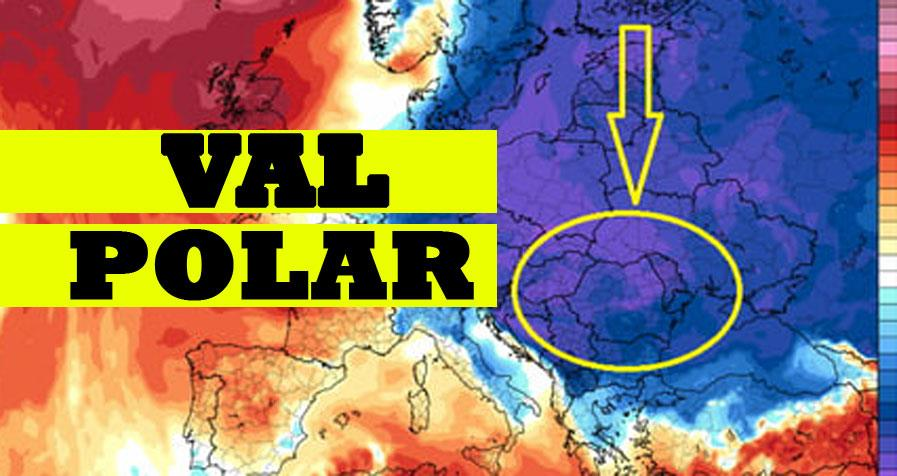 ANM a schimbat prognoza: e mai rău decât se credea! În doar câteva ore vine valul polar peste România