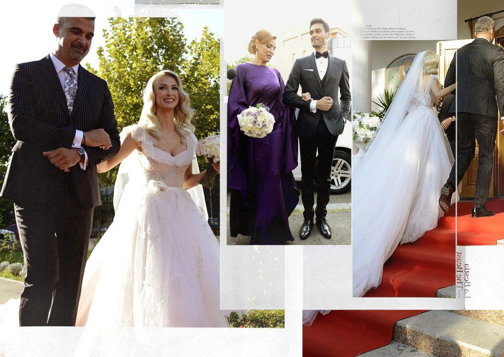 Imagini exclusive | Andreea Bălan și George Burcea s-au căsătorit! Invitați-surpriză la evenimentul toamnei în România!