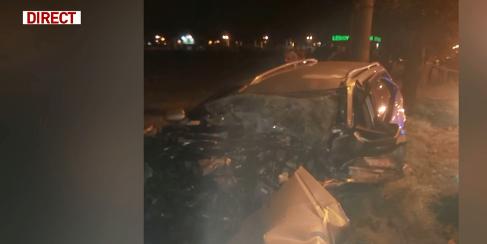 Așa arăta mașina victimei lui Iorgulescu, după impact sursa: Antena3