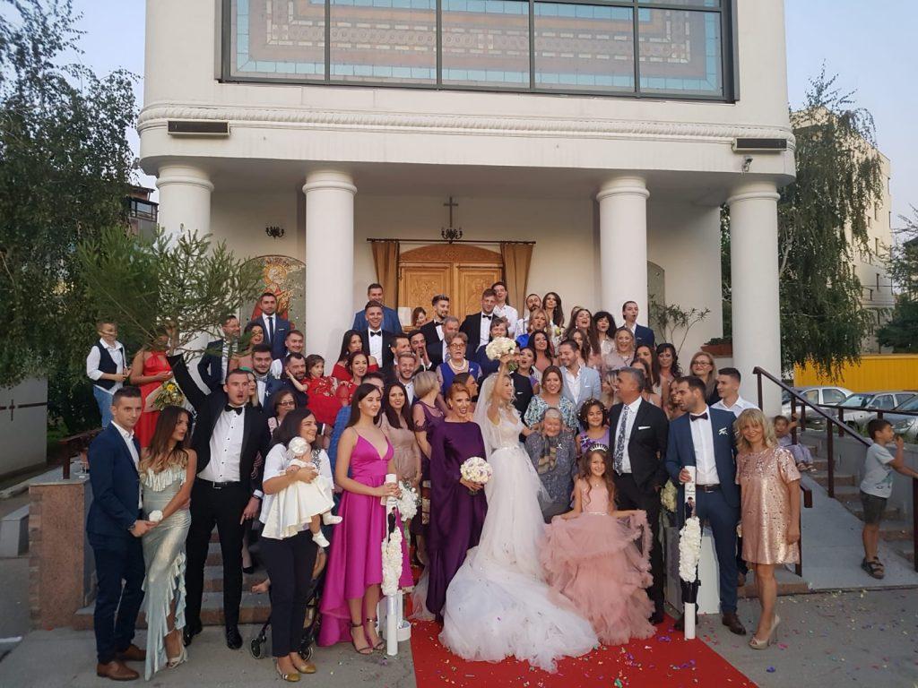 Andreea Bălan și George Burcea au avut 200 de invitați la nunta lor și botezul Clarei © CANCAN.RO