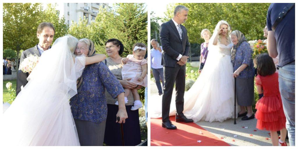 Andreea Bălan, în ziua nunții alături de bunica pe care o iubește enorm © CANCAN.RO