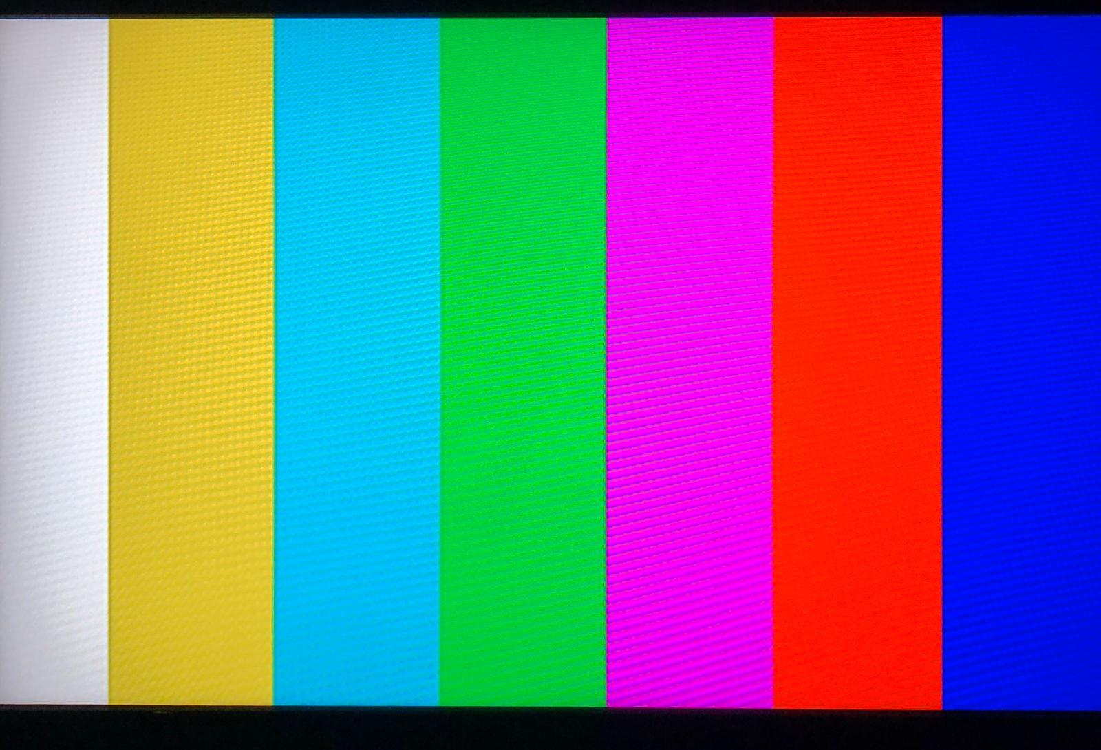 Imaginea care a apărut pe ecranul televizoarelor la miezul nopţii, în momentul în care Realitatea TV și-a oprit emisia