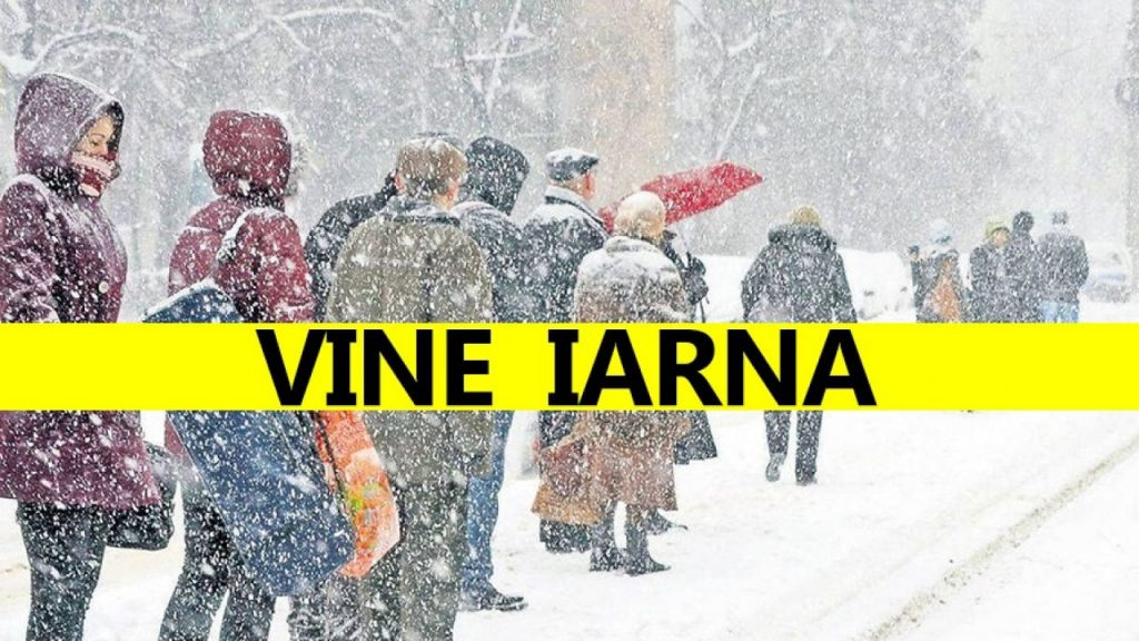 Iarna vine mai devreme în România! Vortexul polar va aduce ninsori abundente