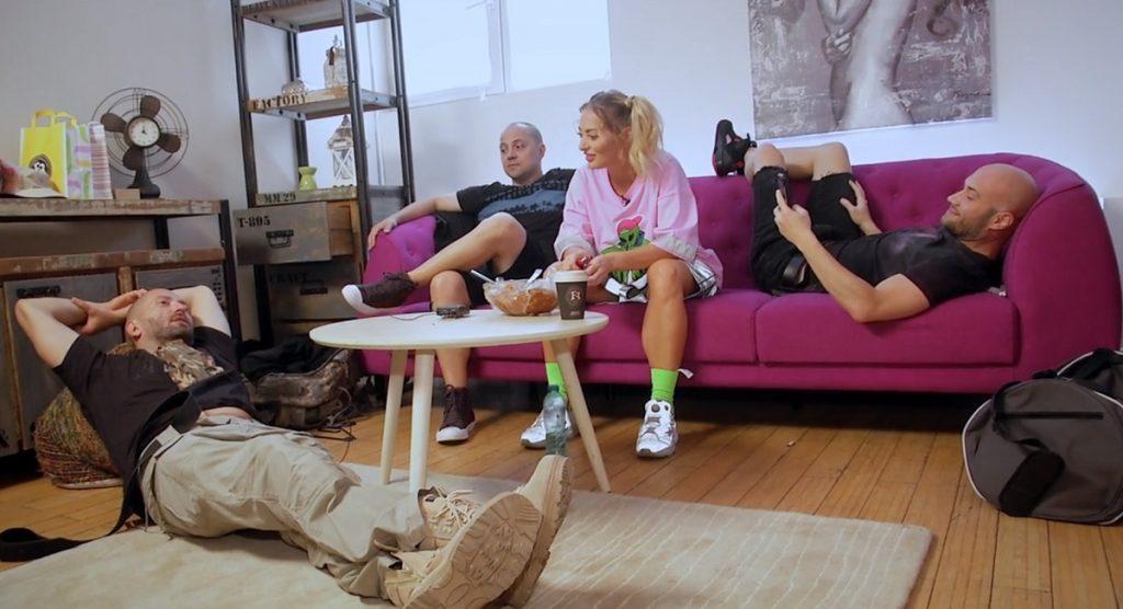 Delia și Cheloo l-au ajutat pe Mihai Bendeac să îi trimită mesaje emoționante cântăreței Mira © captură Antena 1