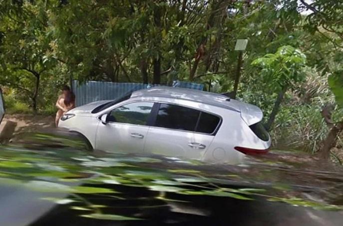 Doi iubiți, surprinși complet dezbrăcați pe marginea unui drum din Taiwan prin intermediul aplicației Google Maps © AsiaWire