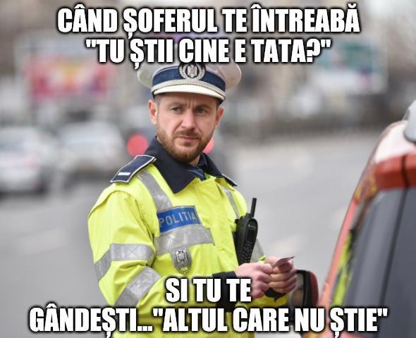 Glume cu politisti