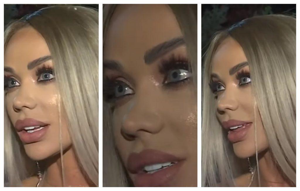 """Bianca Drăgușanu a avut lacrimi în ochi după ce a răspuns la întrebarea: """"Te simți rănită, jignită?"""" © captură Antena 1"""