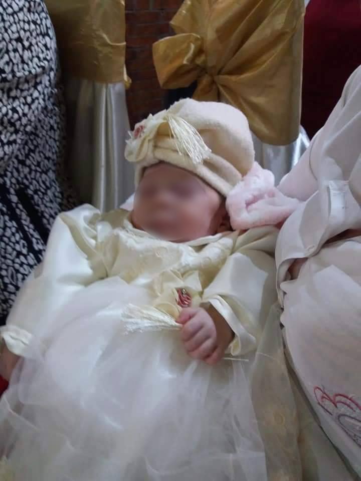 Bebelușa-minune din Balș a fost creștinată