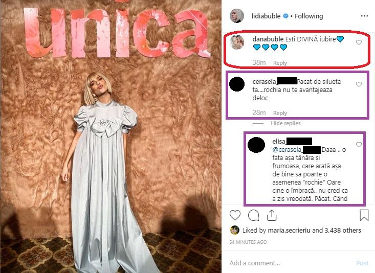 Lidia Buble, într-o rochie ieșită din tipare la decernarea premiilor de la Gala Unica 2019 © Instagram