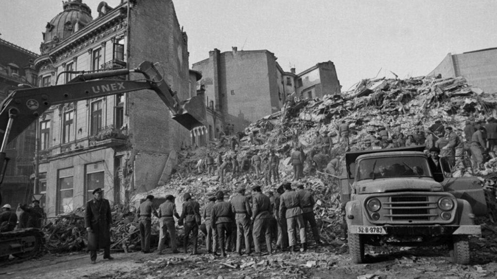 Efectele devastatoare ale seismului din 4 martie 1977