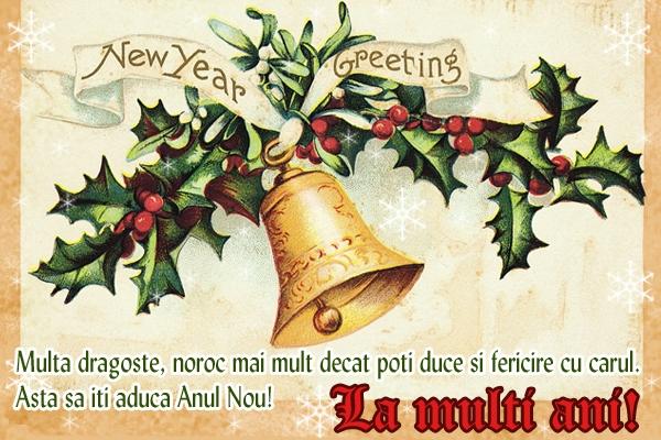 Mesaje urări La mulți ani anul nou 2020 imagini