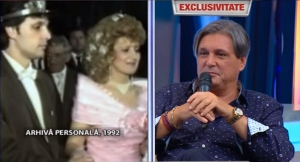 Cornel Galeș, în platoul unei emisiuni după moartea soției sale, Ileana Ciuculete © Kanal D