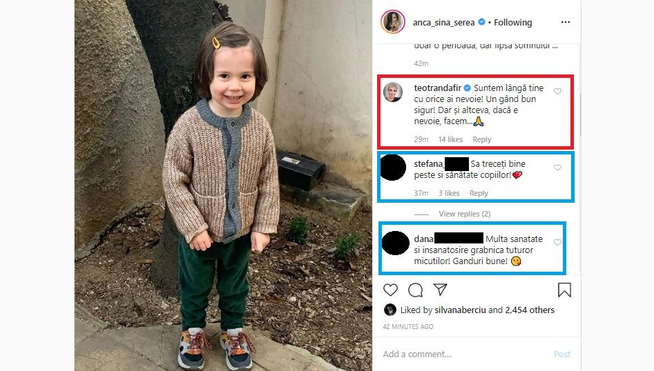 Anca Serea a dezvăluit azi că Sarah, Leah, Moise, David și Ava se confruntă cu probleme de sănătate delicate © Instagram
