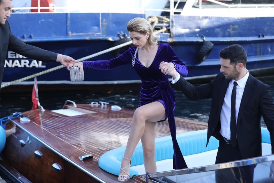 """Victoria Răileanu și Adrian Nartea, în Istanbul, unde au făcut câteva filmări pentru cel de-al treilea sezon al serialului """"Vlad"""" © Facebook"""