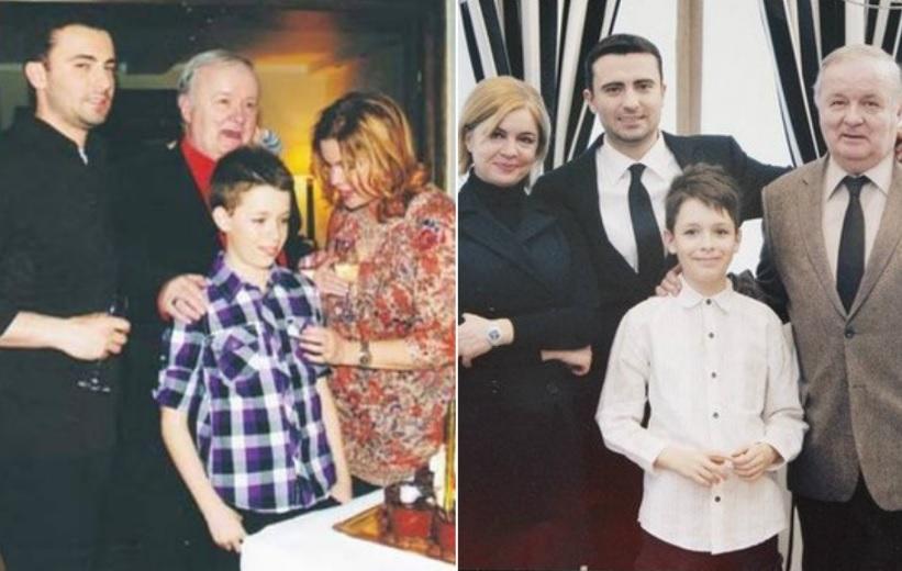 Cristina Țopescu, alături de frații ei de tată și părintele lor, regretatul comentator Cristian Țopescu. Fotografiile au fost realizate în diferite etape ale vieții lor © playtech.ro