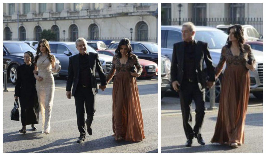 Gigi Becali împreună cu soția sa, Luminița, una dintre fiice și mama lui în ziua nunții Theodorei cu Mihai Mincu © CANCAN.RO
