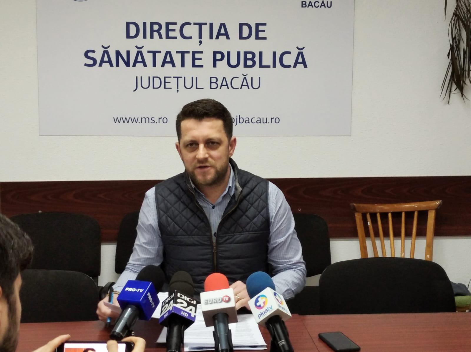 Dr. Alin Năstasă, șeful DSP Bacău