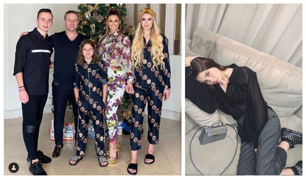 Anamaria Prodan are două fete din mariajul cu Tiberiu Dumitrescu și un băiat cu Laurențiu Reghecampf. Celebrul antrenor de fotbal are un fiu cu fosta soție © Instagram