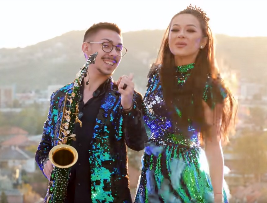 Armin Nicoară și Vlăduța Lupău, un cuplu de artiști care s-a destrămat cu scântei