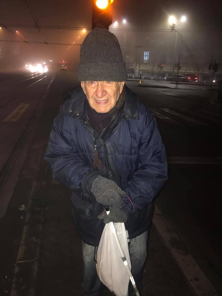 Flavius Florescu, bătrânelul de aproape 88 de ani abandonat într-un azil