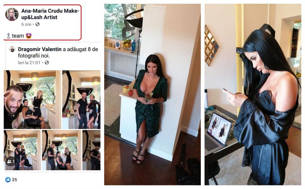 Ana-Maria Crudu a publicat câteva poze de la o ședință foto recentă pe care a făcut-o sora ei, Daniela Crudu © Facebook