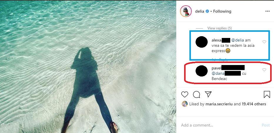 """Delia a mărturisit că își dorește să participe la """"Asia Express"""", dar, deocamdată, nu a reușit să accepte provocarea din cauza programului încărcat © Instagram"""